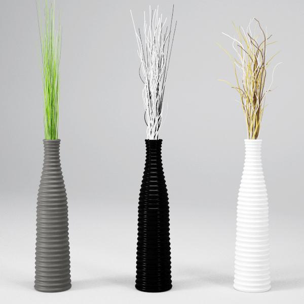 Vrayworld deco vase - Branche deco vase ...