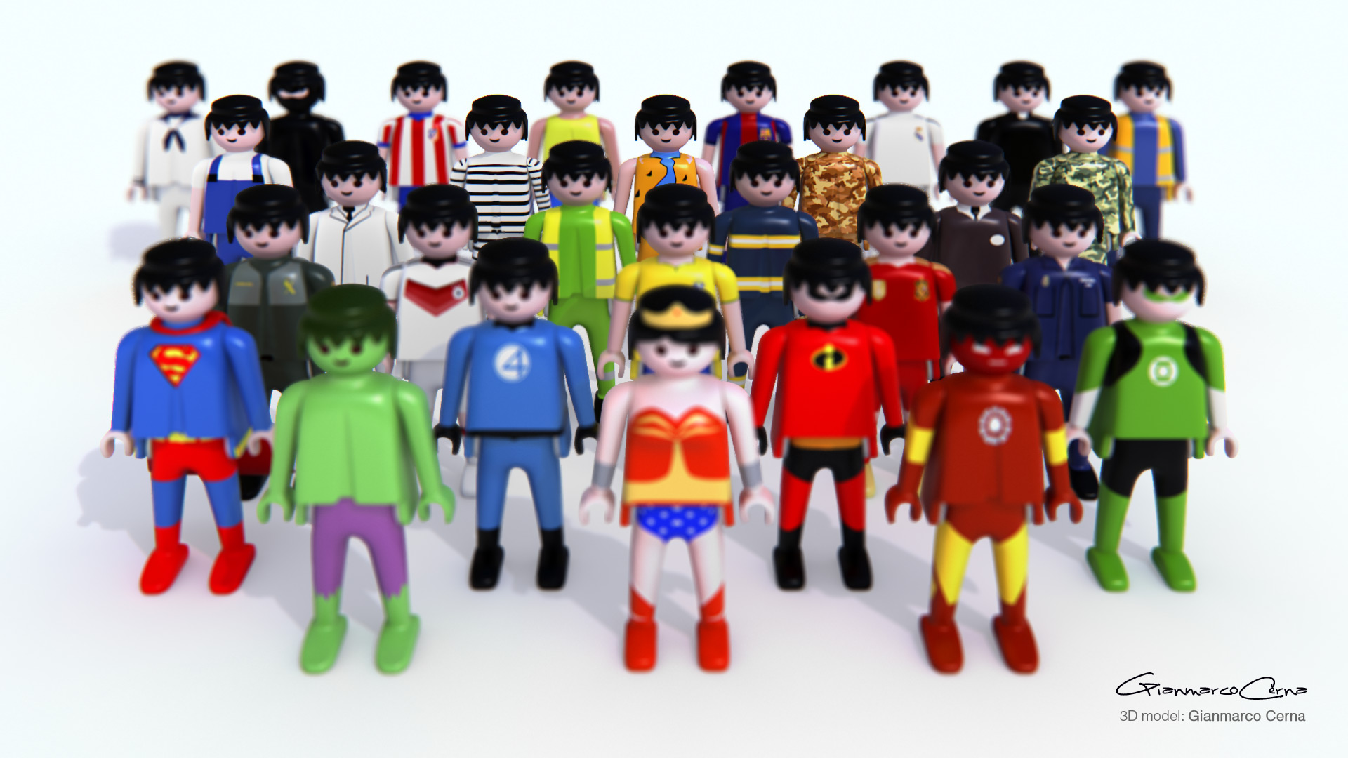 Vrayworld Playmobil