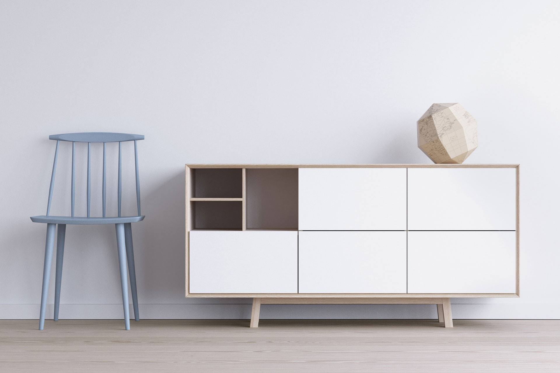 Vrayworld scandinavian furniture for Scandinavian furniture